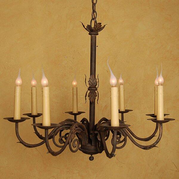 Fleur De Lis Living Grajeda 8 Light Candle Style Classic Traditional Chandelier Wayfair
