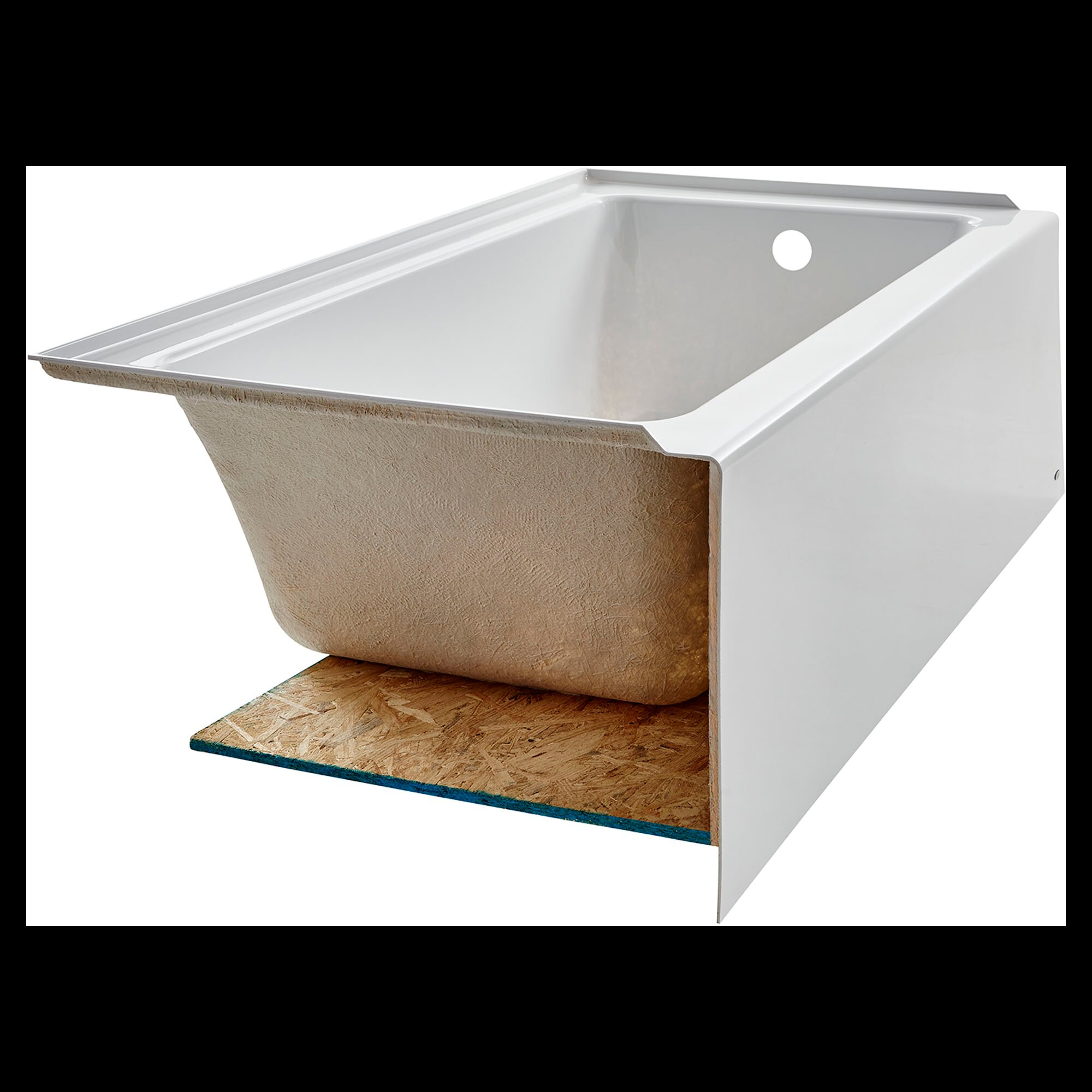 streamline with today soaking shipping garden tub bathtubs wyndham bathtub free internal inch home product freestanding drain overstock