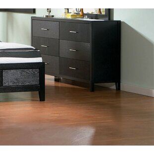 Colchester 6 Drawer Double Dresser by Ivy Bronx
