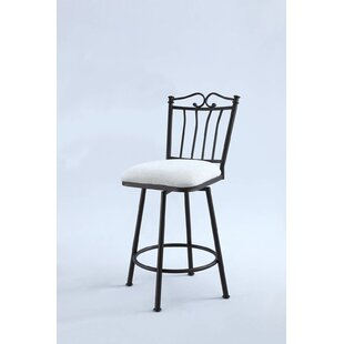 Red Barrel Studio Linda Swivel Bar Stool