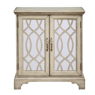 One Allium Way Chatillon 2 Door Accent Cabinet
