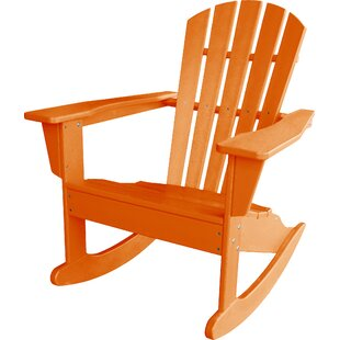 Palm Coast Plastic Adirondack Rocking Chair