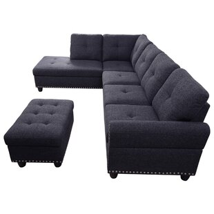 Rosdorf Park Ricka Sectional with Ottoman