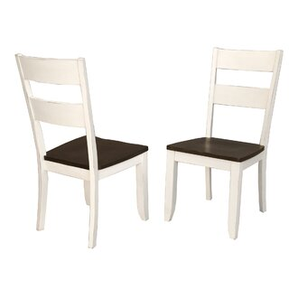 Aguero Solid Wood Dining Chair (Set of 2) by Canora Grey SKU:AB301944 Purchase