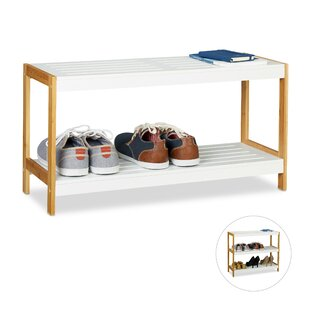 6 Pair Shoe Storage Bench By Symple Stuff