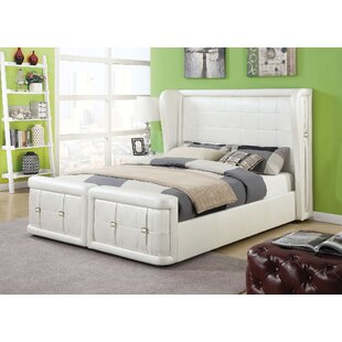 Latitude Run Jourdan Upholstery Panel Bed