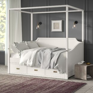 Greyleigh Tazewell Canopy Daybed with Trundle