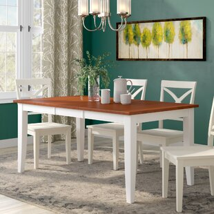 Bennet Extendable Solid Wood Dining Table