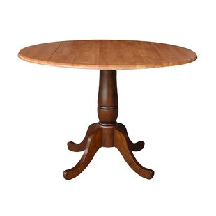 Ollie Drop Leaf Solid Wood Dining Table
