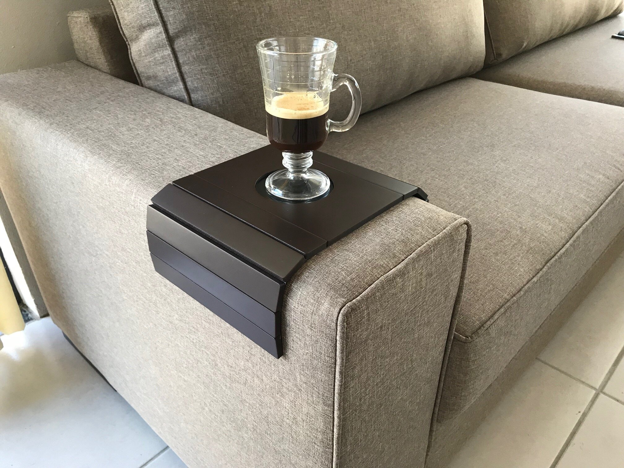 delong sofa couch tray table