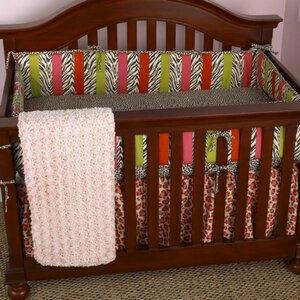 Here Kitty Kitty 4 Piece Crib Bedding Set