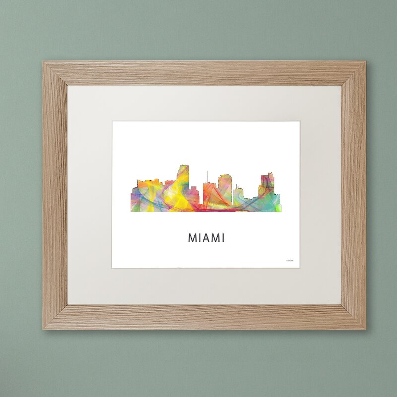 Modern Frame Art Miami Collection - Ideas de Marcos - lamegapromo.info