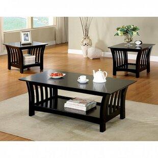 Winston Porter Neida Transitional 3 Piece Coffee Table Set