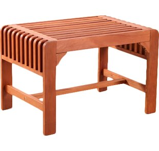 Darrick Backless Wood Picnic Bench