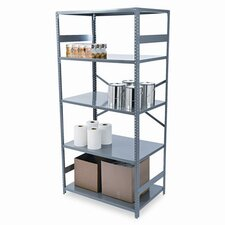 Commercial 75 H 4 Shelf Shelving Unit Starter by Tennsco Corp.