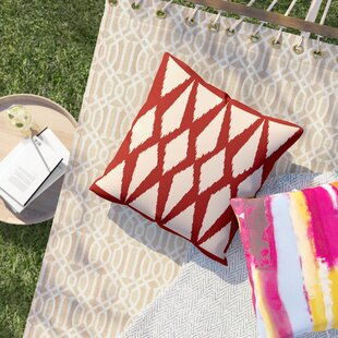 Cristian Geometric Decorative Outdoor Pillow