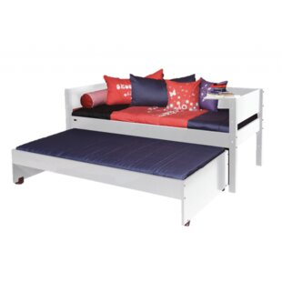 Jose European Single Bed Frame With Trundle By Harriet Bee