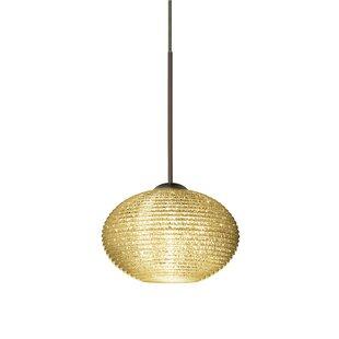 Lasso 1-Light Globe Pendant by Besa Lighting