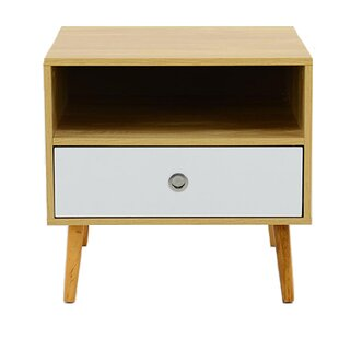 Nora 1 Drawer Bedside Table