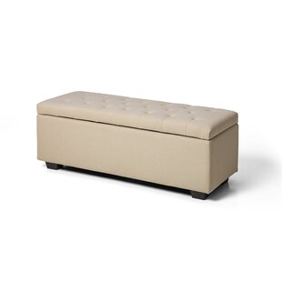 Maubara Upholstered Storage Bench by Ivy Bronx