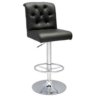 Chintaly Imports Pneumatic Gas Adjustable Height Swivel Bar Stool