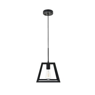 Alter 1-Light Geometric Pendant by Wrought Studio