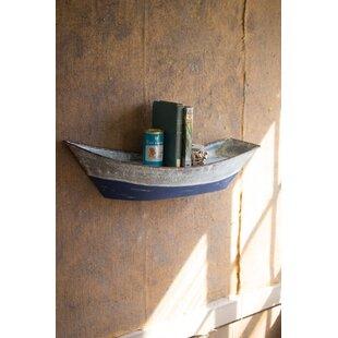Breakwater Bay Ehrlich Metal Boat Wall Sh..