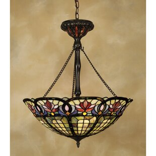 Astoria Grand Tadler 3-Light Bowl Pendant