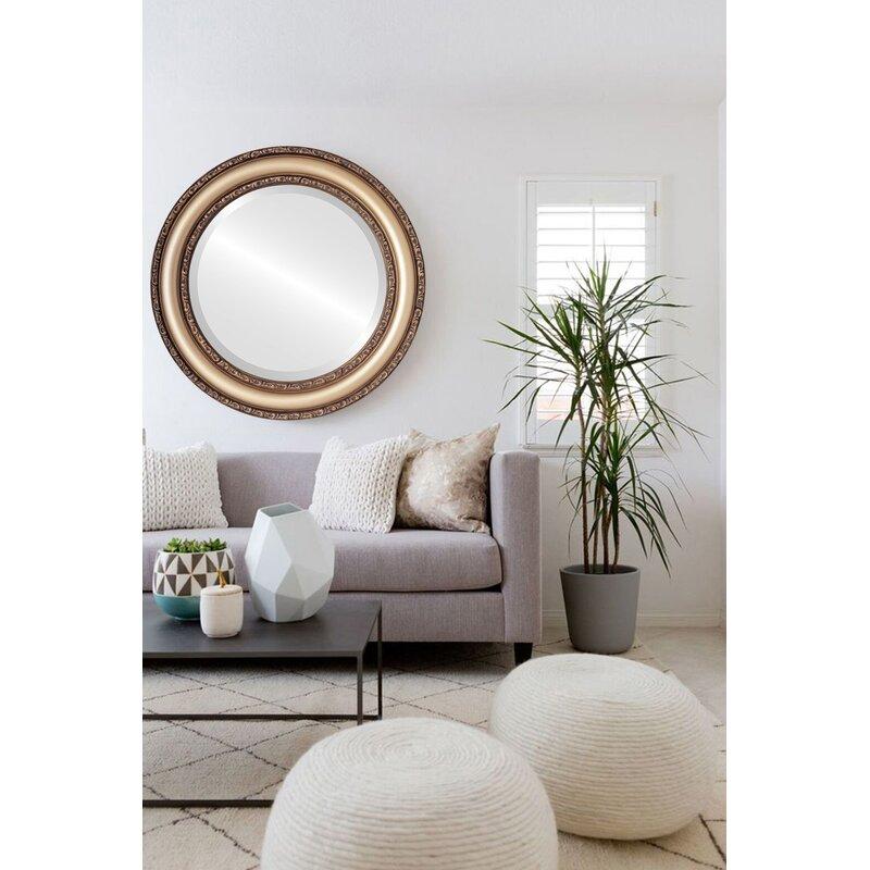 Charlton Home Workington Traditional Beveled Accent Mirror Wayfair