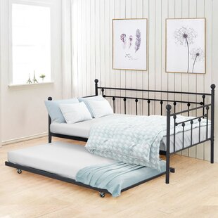 Compare prices Hancock Twin Daybed with Trundle by August Grove Reviews (2019) & Buyer's Guide