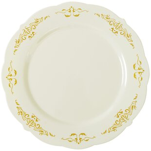 Heritage Embossed Salad Plate (Set of 12) by Fineline Settings, Inc