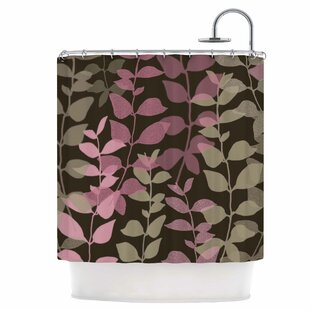 Leaves of Fantasy Single Shower Curtain