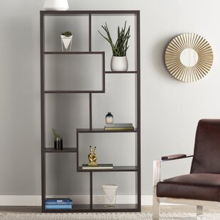 Ervin Geometric Bookcase by Wade Logan Sale