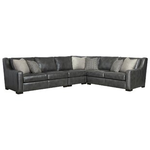 Germain Leather Sectional