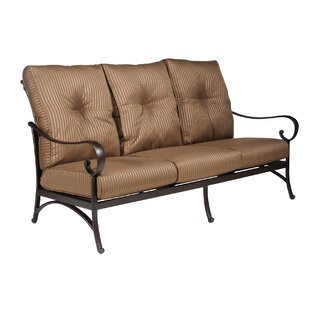 Borland Patio Sofa with Cushion by Darby Home Co