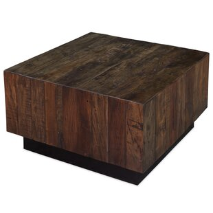 Ebonized Walnut Coffee Table by Sarreid Ltd Purchase