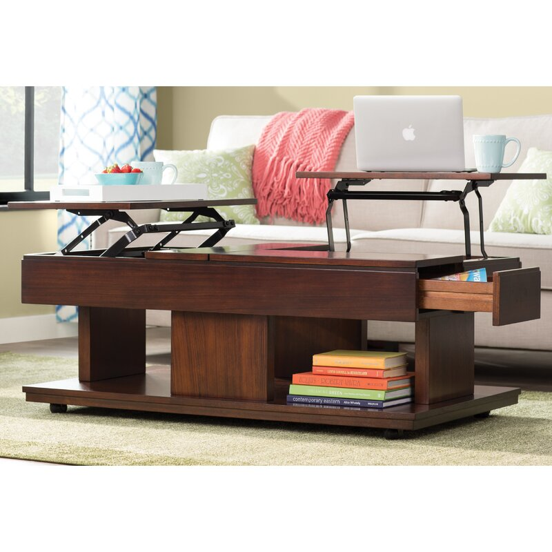 Darby Home Co Janene Lift Top Coffee Table Amp Reviews Wayfair