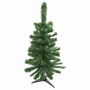 4′ Green Pine Artificial Christmas Tree with Stand