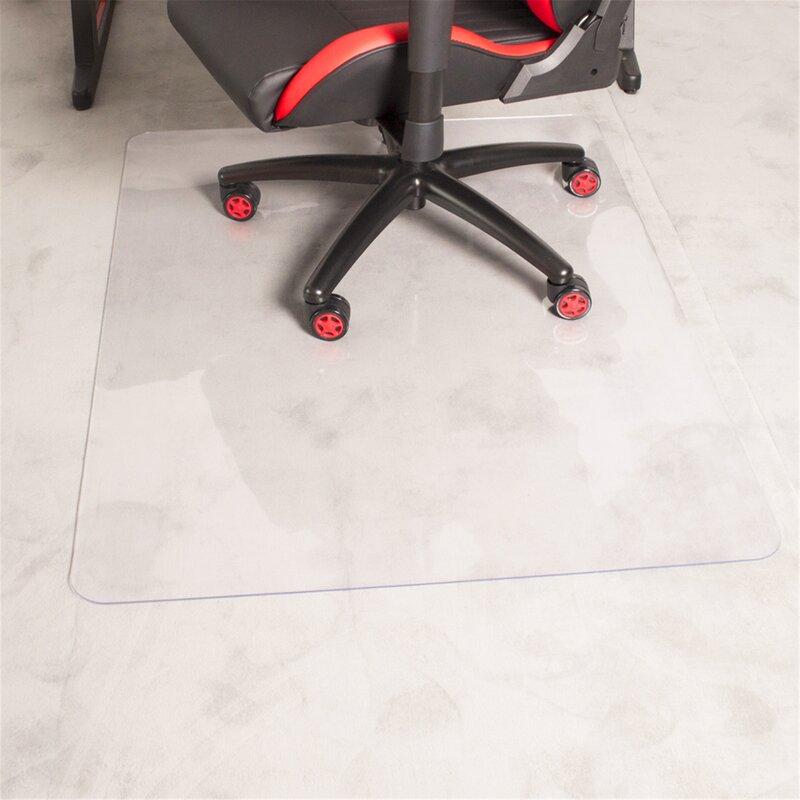 Moda Furnishings Hard Floor Straight Rectangular Chair Mat Wayfair