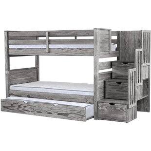 Tena Twin over Twin Bunk Bed by Harriet Bee