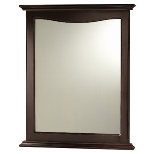 Top Stony Milton Bathroom/Vanity Mirror ByHazelwood Home