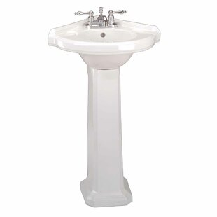 Small Corner Pedestal Sink Wayfair