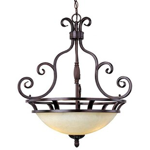 Darby Home Co Amelia 3-Light Bowl Pendant