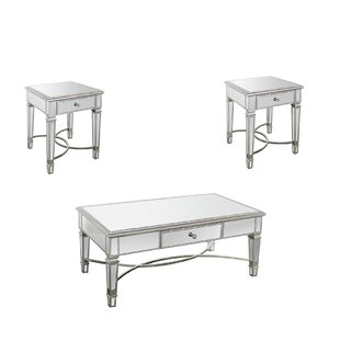 Angela 3 Piece Coffee Table Set by Rosdorf Park