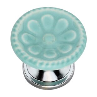 Handpainted Gerbera Round Knob (Set of 8)
