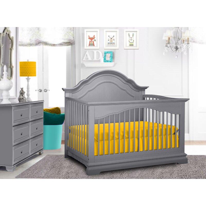 Three Posts Baby Kids Essex 4 In 1 Convertible Crib Wayfair