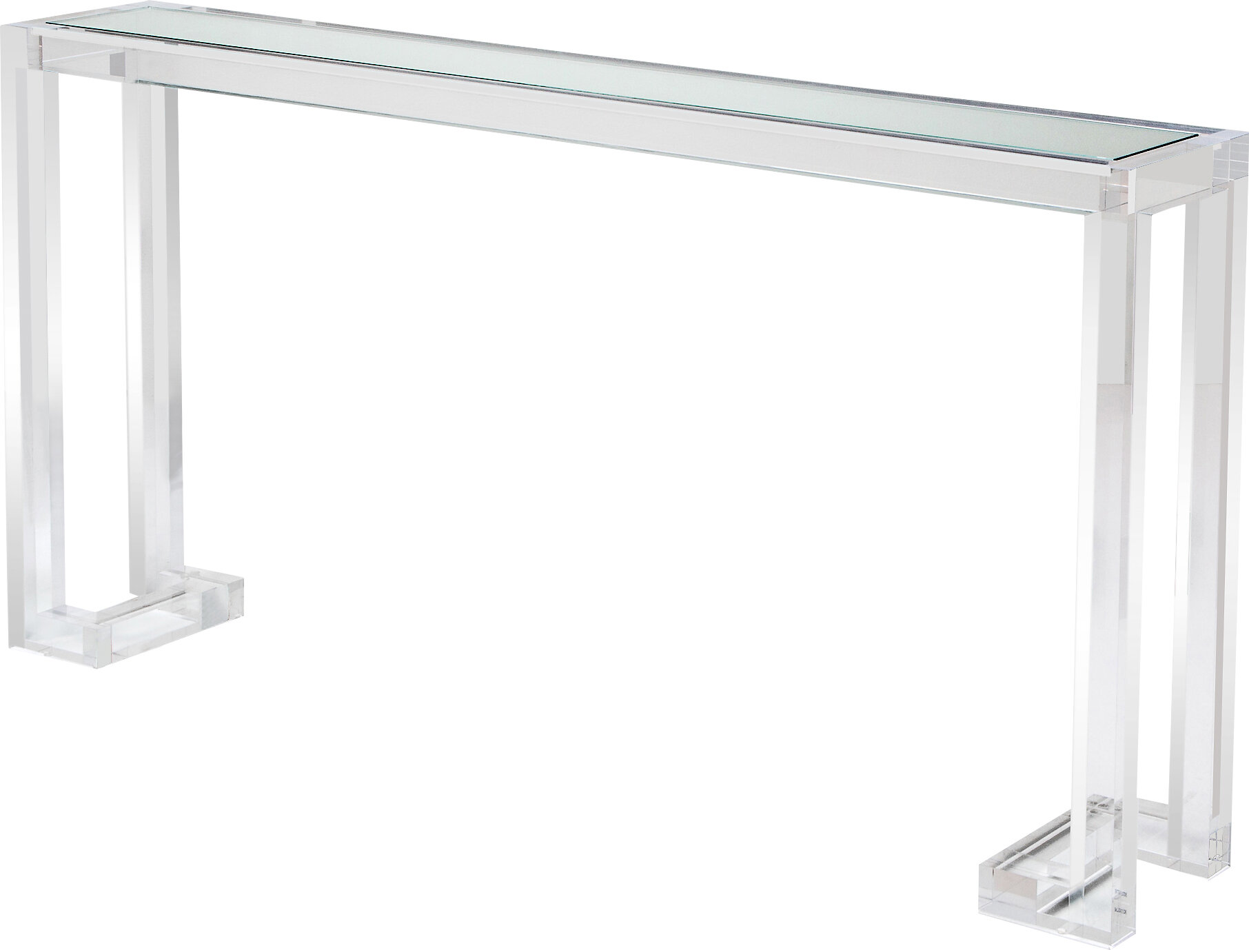 Picture of: Interlude Ava 60 Console Table Reviews Wayfair