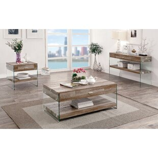 Affordable Guero 3 Piece Coffee Table Set By Trent Austin Design