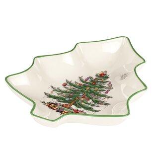 Christmas Tree Serve Tree Shape Dish. by Spode  sc 1 st  Wayfair & Spode Christmas Tree Dishes | Wayfair