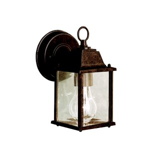 Price comparison Caroline 1-Light Outdoor Wall Lantern By Astoria Grand